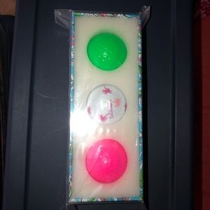 Lilly Pulitzer Other - Lilly Pulitzer Golf balls never opened